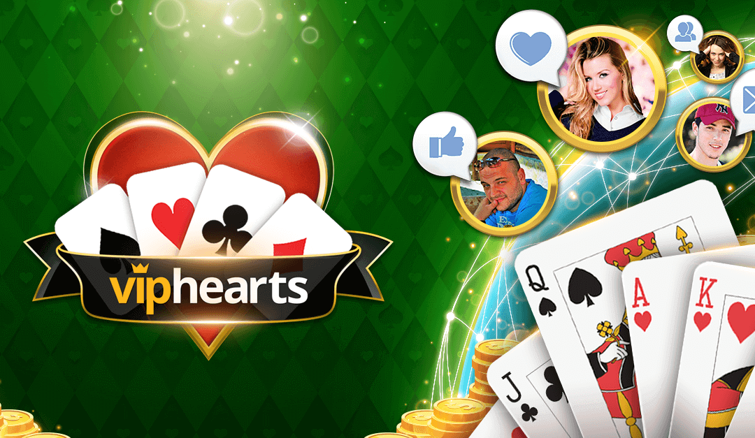 VIP Hearts | Play Hearts Online