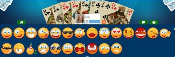 emojis during game
