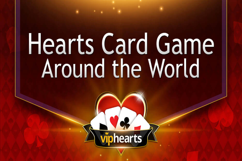 hearts card game around the world