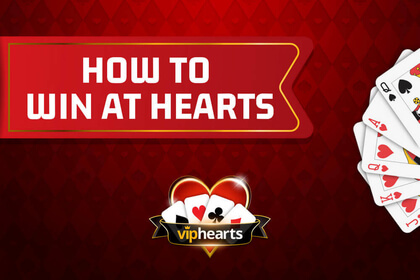 winning at hearts card game
